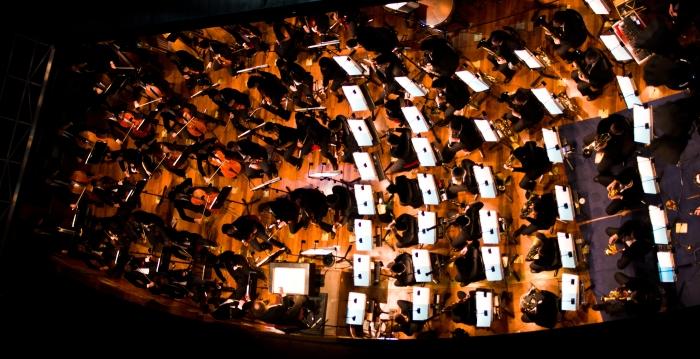 L'Orchestra, in tutto il suo splendore