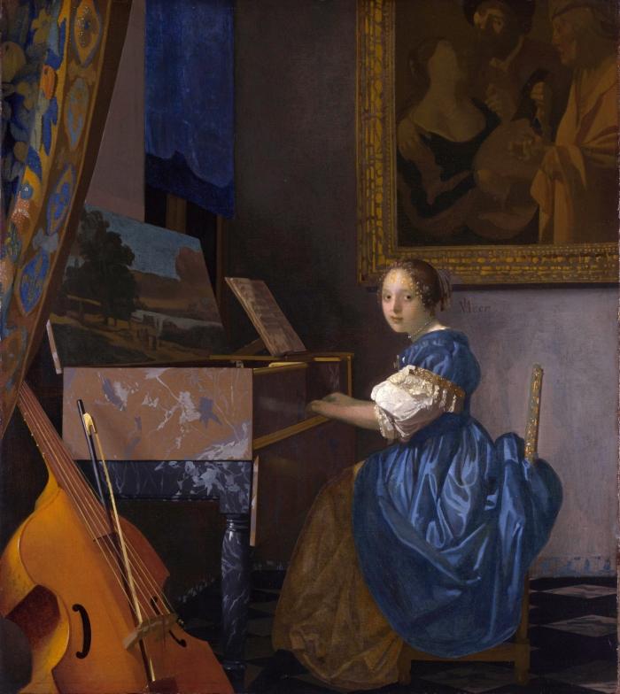 Johannes_Vermeer_donna seduta al virginale)