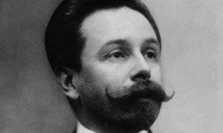 Alexander Scriabin (1872-1915). Russian Composer.